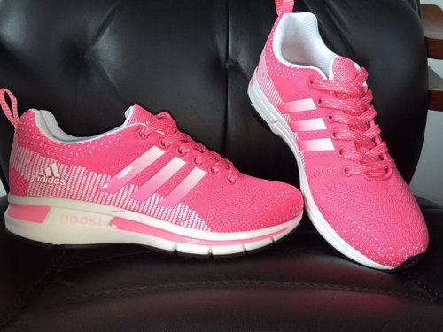 Womens Adidas Ultra Boost Pink - White Closeout
